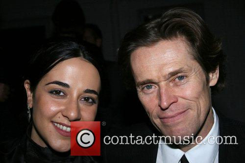Willem Dafoe and guest Private party at Vanessa...