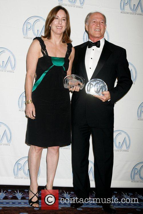 Kathleen Kennedy and Frank Marshall 2