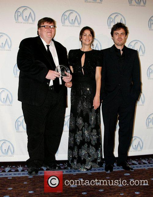 Michael Moore, Meghan O'hara and Casey Affleck 3