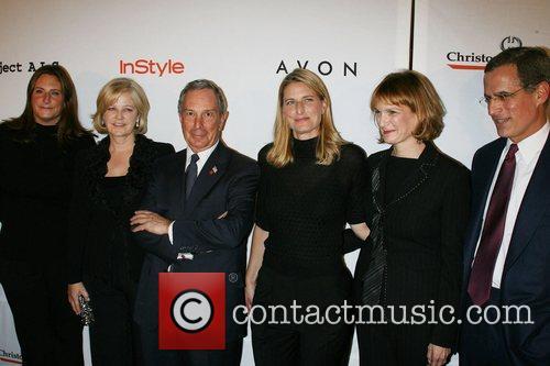Meredith Estess, Martha Nelson, Mayor Michael Bloomberg, Valerie...