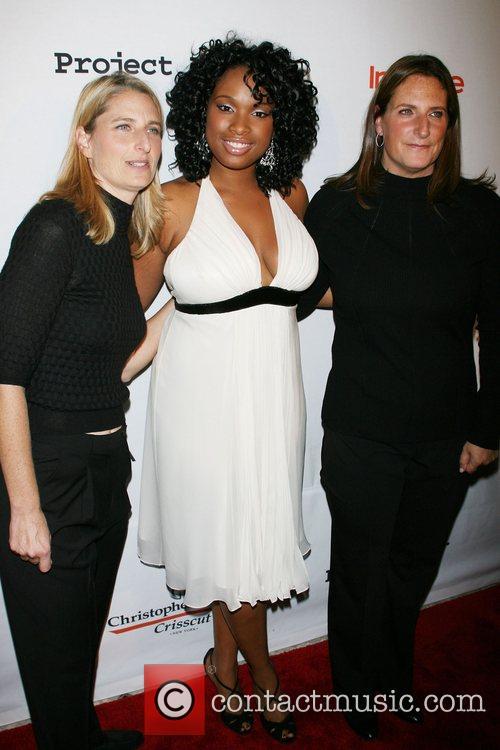 Valerie Estess, Jennifer Hudson, Meredith Estess Project A.L.S....