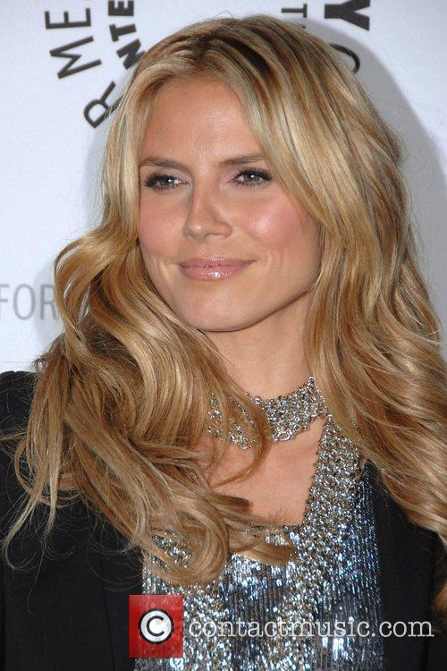 Heidi Klum  Project Runway discussion at the...