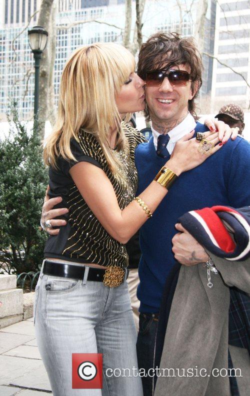 Heidi Klum and Jeffrey Sebelia Mercedes Benz Fashion...