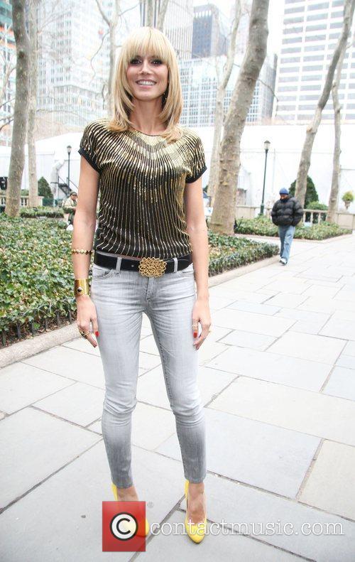Heidi Klum Mercedes Benz Fashion Week Fall 2008...