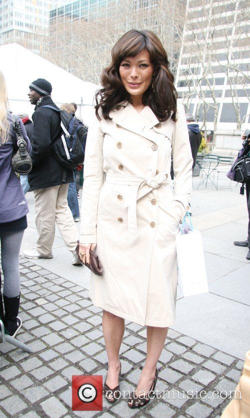 Lindsay Price Mercedes Benz Fashion Week Fall 2008...