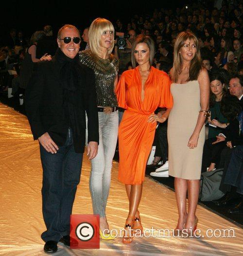 Michael Kors, Heidi Klum and Victoria Beckham 1