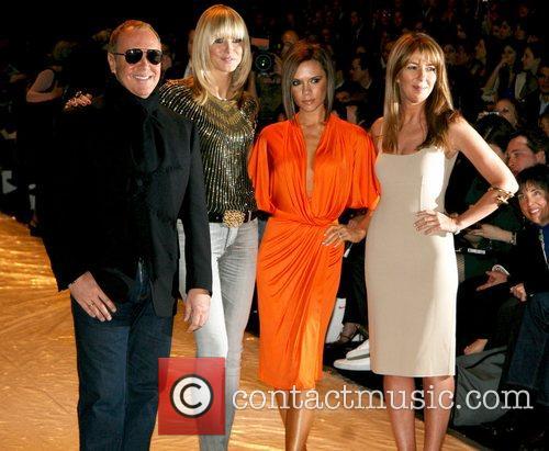 Michael Kors, Heidi Klum, Victoria Beckham, Mercedes Benz Fashion Week