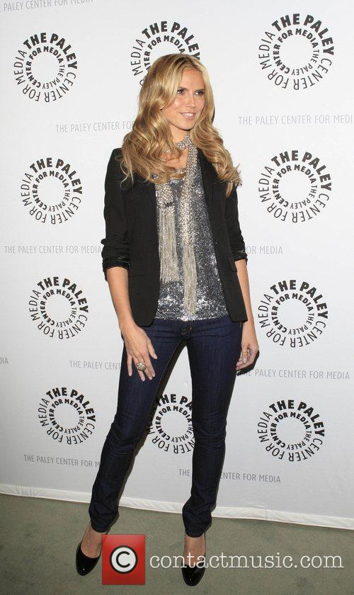 Heidi Klum Inside Project Runway at The Paley...