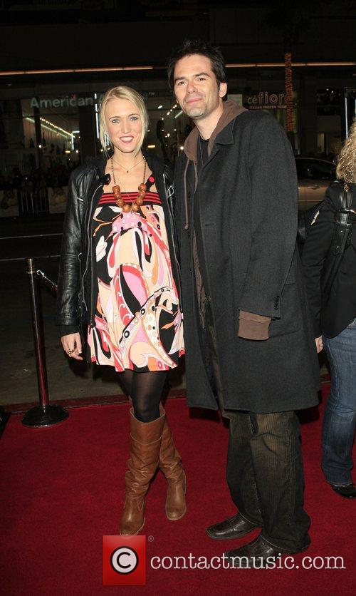 Billy Burke and guest Premiere of 'P.S. I...