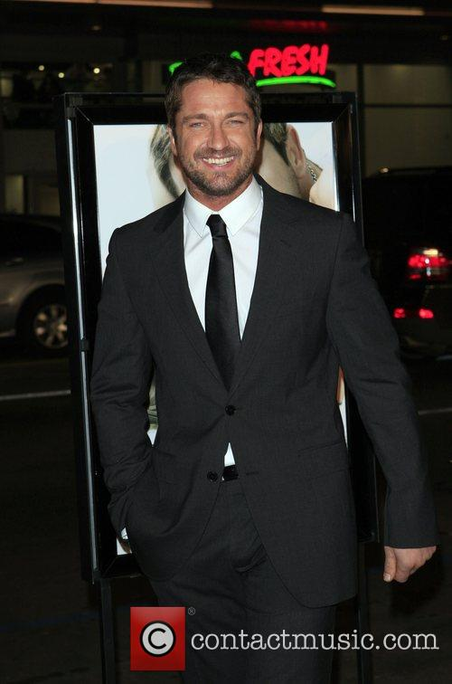 Gerard Butler Premiere of 'P.S. I Love You'...