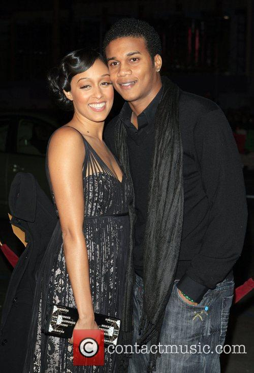 Tia Mowry and guest Premiere of 'P.S. I...