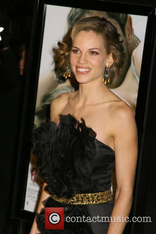 Hilary Swank Premiere of 'P.S. I Love You'...