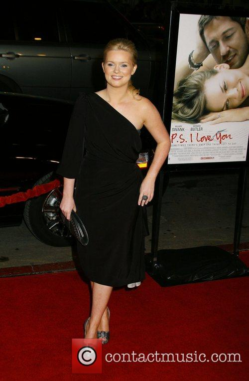 Cecelia Ahern Premiere of 'P.S. I Love You'...