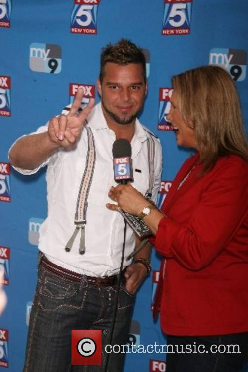 Ricky Martin and Lisa Evers 5th annual National...