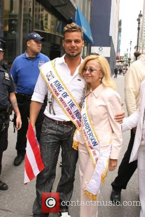 Ricky Martin and Madelyn Lugo 5th annual National...