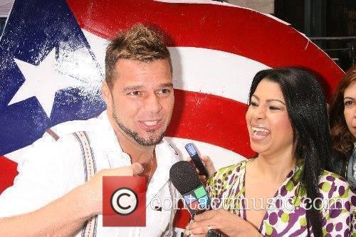 Ricky Martin and Vaneiza Polanco 5th annual National...