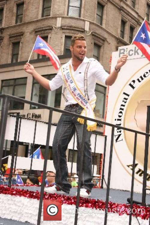 Ricky Martin 5th annual National Puerto Rican Day...