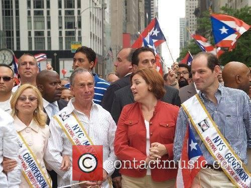 Mayor Michael Bloomberg, Councilwoman Christine Quinn, Governor Eliot...