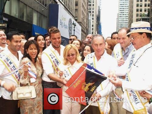Ricky Martin, Mayor Michael Bloomberg, Governor Eliot Spitzer...