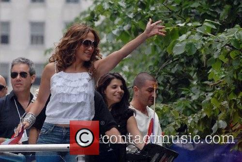 Jennifer Lopez  50th Annual Puerto Rican Day...