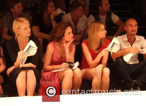 Franziska Knuppe, Andie MacDowell and Eva Padberg Puma...