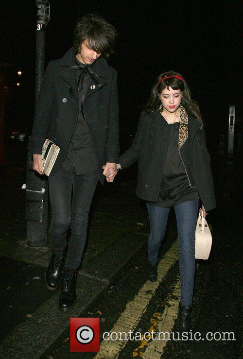 Peaches Geldof, Her New Boyfriend, Horrors Frontman Faris Rotter and Leaving Punk Nightclub At 3.00am 7