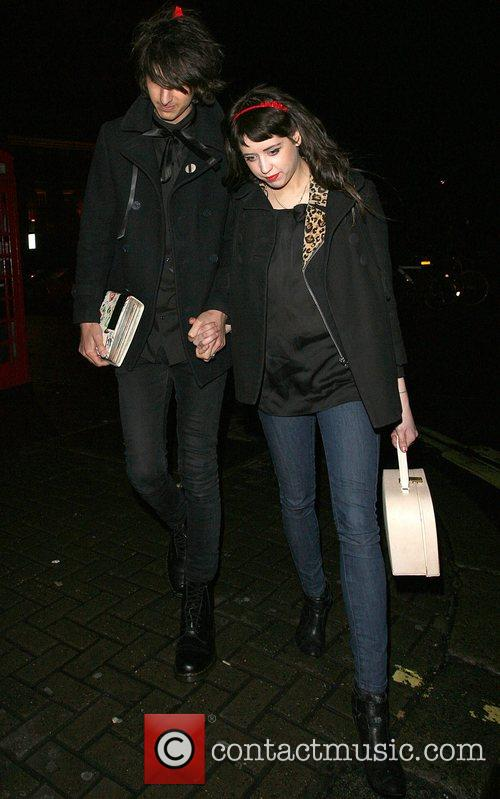 Peaches Geldof, Her New Boyfriend, Horrors Frontman Faris Rotter and Leaving Punk Nightclub At 3.00am 6