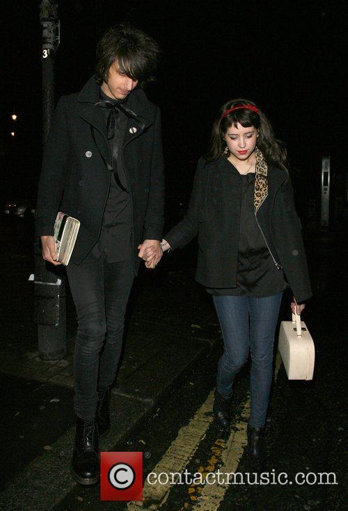 Peaches Geldof, her new boyfriend, Horrors frontman Faris Rotter and leaving Punk nightclub at 3.00am 16