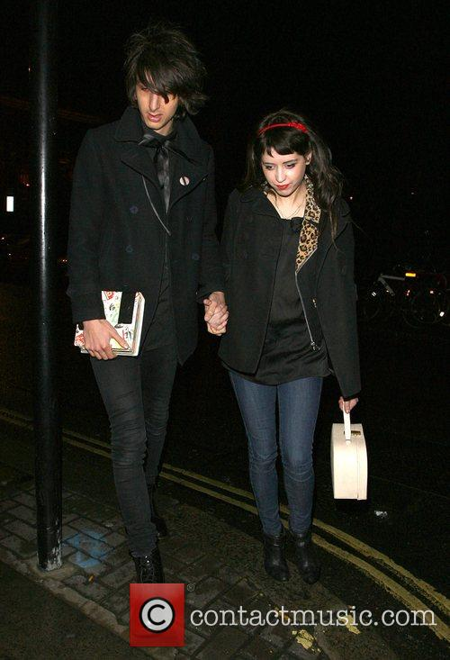 Peaches Geldof, Her New Boyfriend, Horrors Frontman Faris Rotter and Leaving Punk Nightclub At 3.00am 2