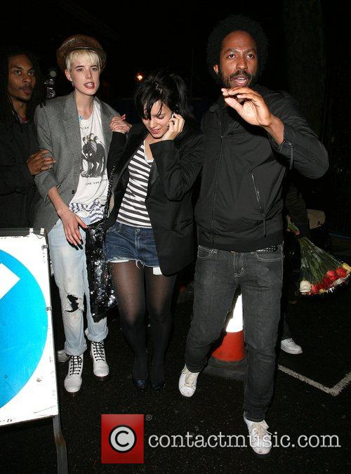 Agyness Deyn and Lily Allen 5
