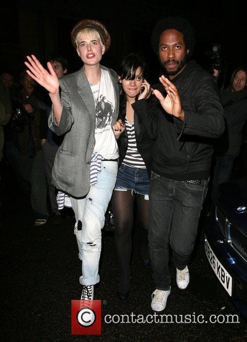 Agyness Deyn and Lily Allen 8