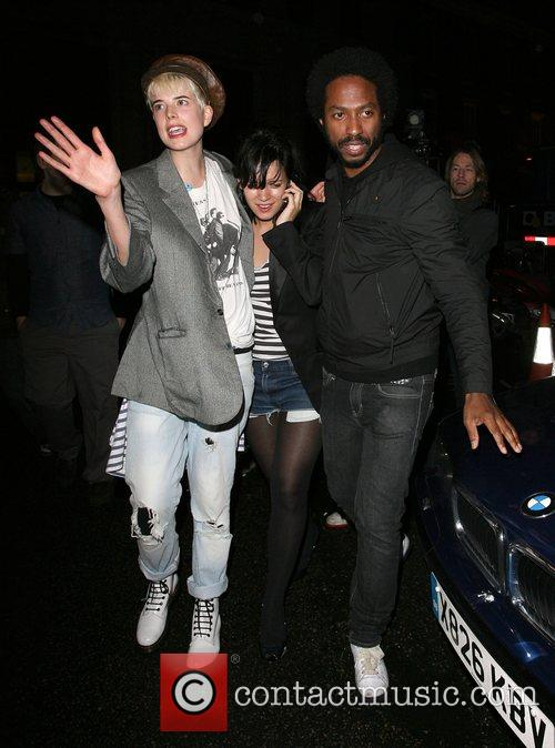 Agyness Deyn and Lily Allen 6