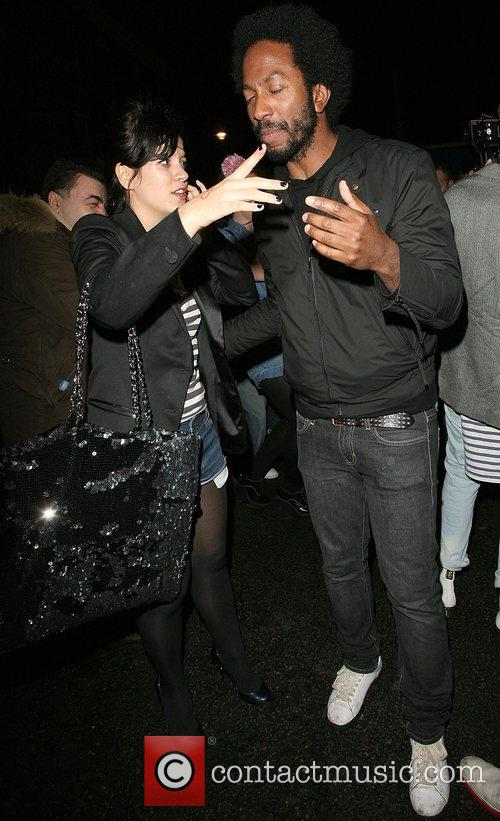 Lily Allen leaves Punk nightclub very worse for...