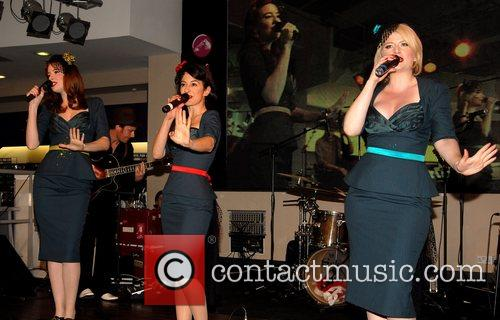 The Puppini Sisters perform at HMV