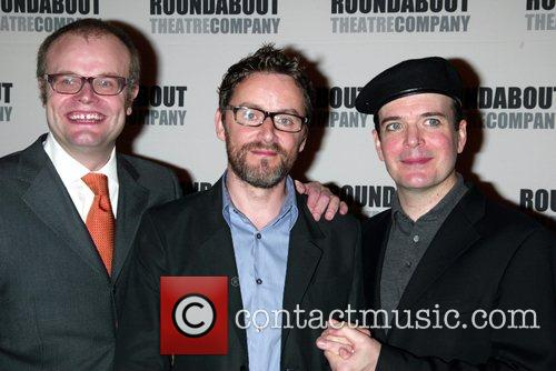 Opening night party of the Broadway play 'Pygmalion'...