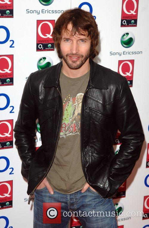 James Blunt The Q Awards held at the...