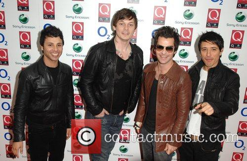 Stereophonics The Q Awards held at the Grosvenor...