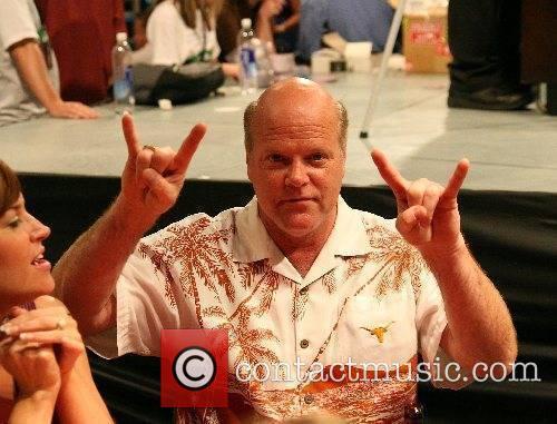 Rex Linn at the Dennis Quaid Charity Weekend...