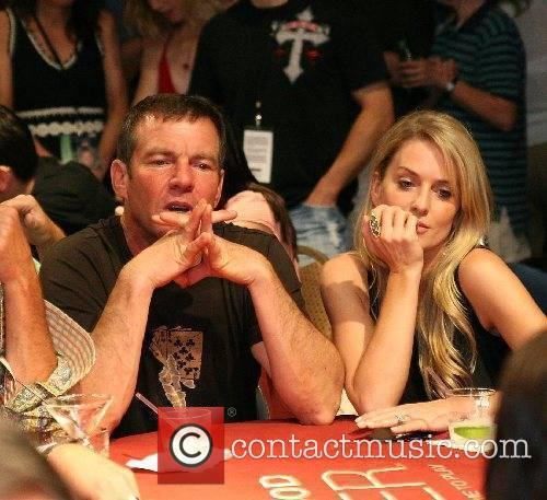 Dennis Quaid & wife Kimberly at the Dennis...