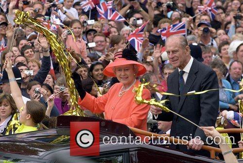 Queen Elizabeth Ii and The Duke Of Edinburgh Celebrate Their Golden (60th) Wedding Anniversary On 21st Nov 2007 1
