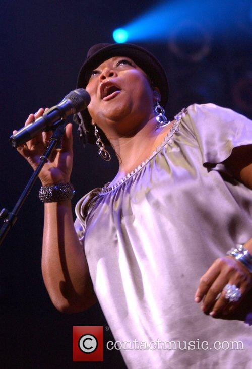Queen Latifah performing live at the House of...