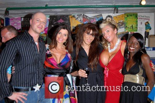 Richard Newman, Lea Walker, Suzie Verrico & Kemal...