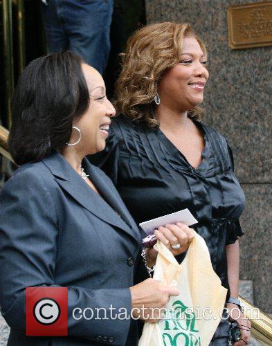 Queen Latifah and CBS 4