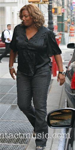 Queen Latifah and CBS 9