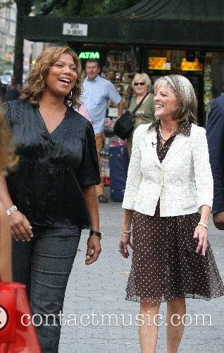Queen Latifah and Cbs 3