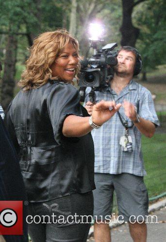 Queen Latifah and CBS 13