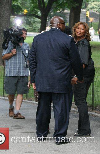 Queen Latifah and Cbs 10