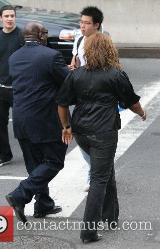 Queen Latifah and CBS 7