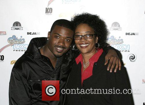 Ray J and Mother Attends and performs at...