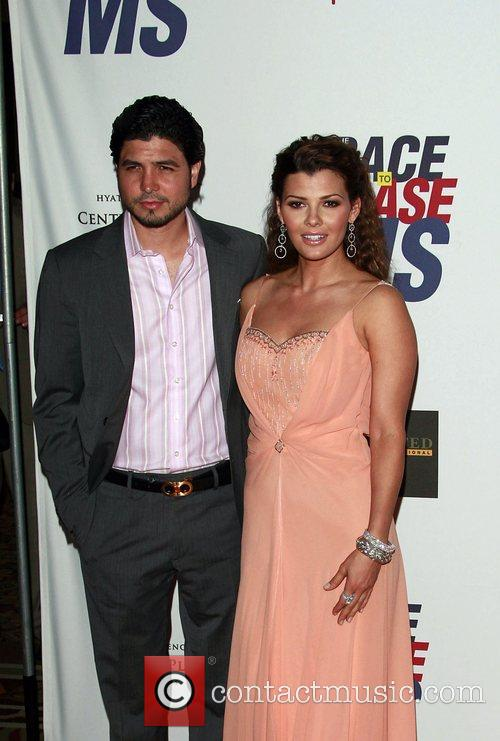 Ali Landry and her husband The 15th Annual...